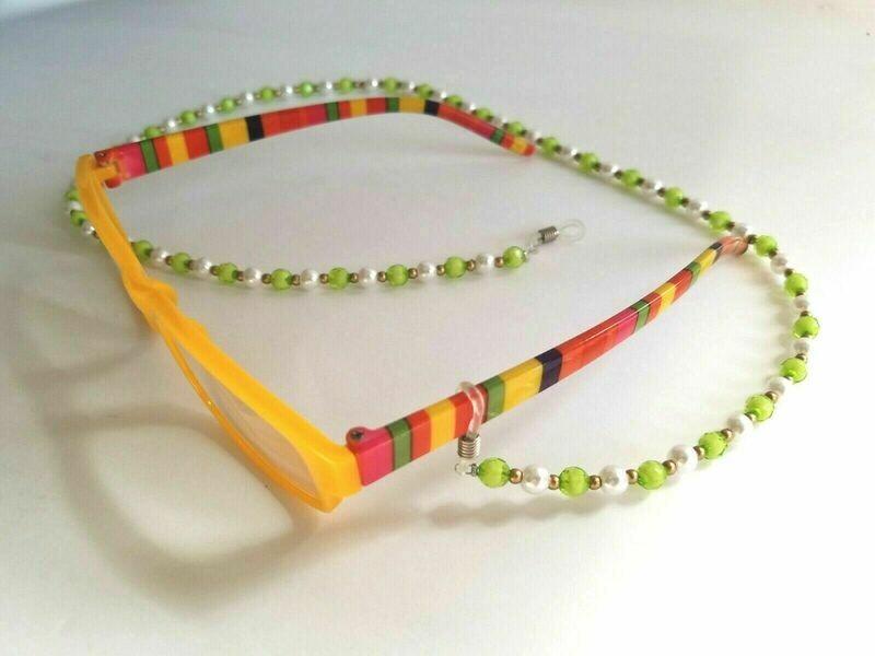 Elegant Eyeglass Chain