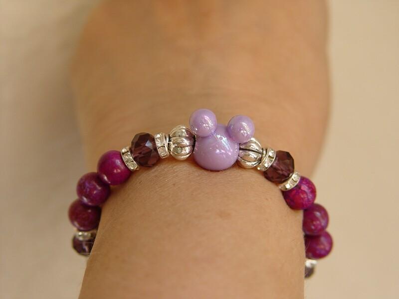 Minnie Lilac Bracelet