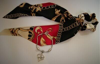 Mom Heart Charm Bracelet set
