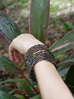 Beaded Wrap Bracelet - Handmade