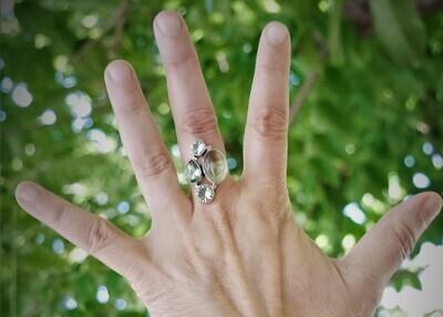 Peridot Gemstone Handmade Ethnic Ring