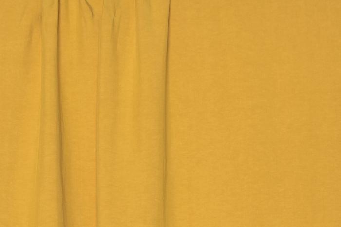 Viscose/Linen - Mustard