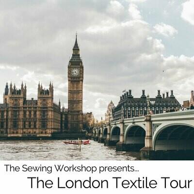 Sewing Workshop London Textile Tour 041420