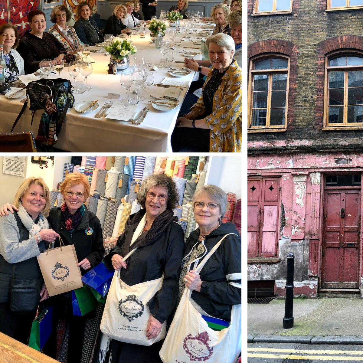 Sewing Workshop London Textile Tour