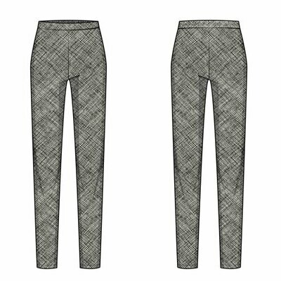 Pencil Pants PDF Pattern (Download) PD018