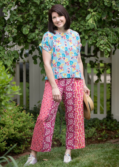 July - The Patchwork Chesney Pants