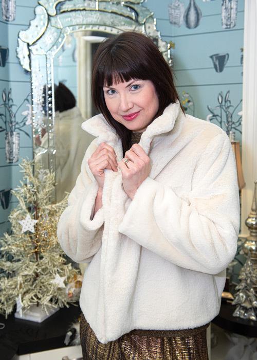 December - The Faux Fur Crossroads Jacket