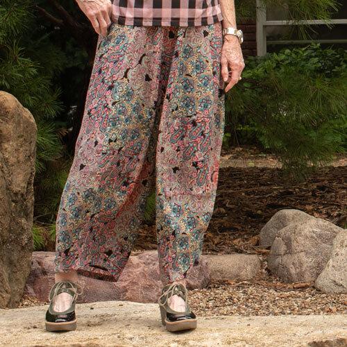 Panel Pants Pattern (Download)