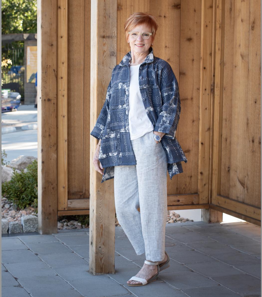 Boro-Inspired London Jacket Sew Confident! Online Workshop