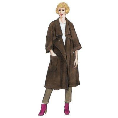Flatiron Coat & Jacket PP065