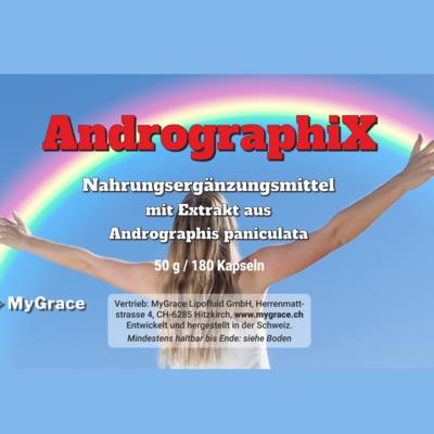 AndrographiX 180 Kapseln 100 mg