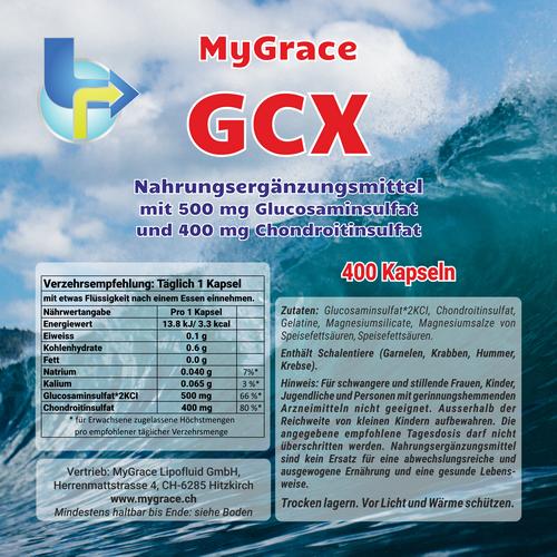 Glucosamin + Chondroitin 4 Monats-Pack