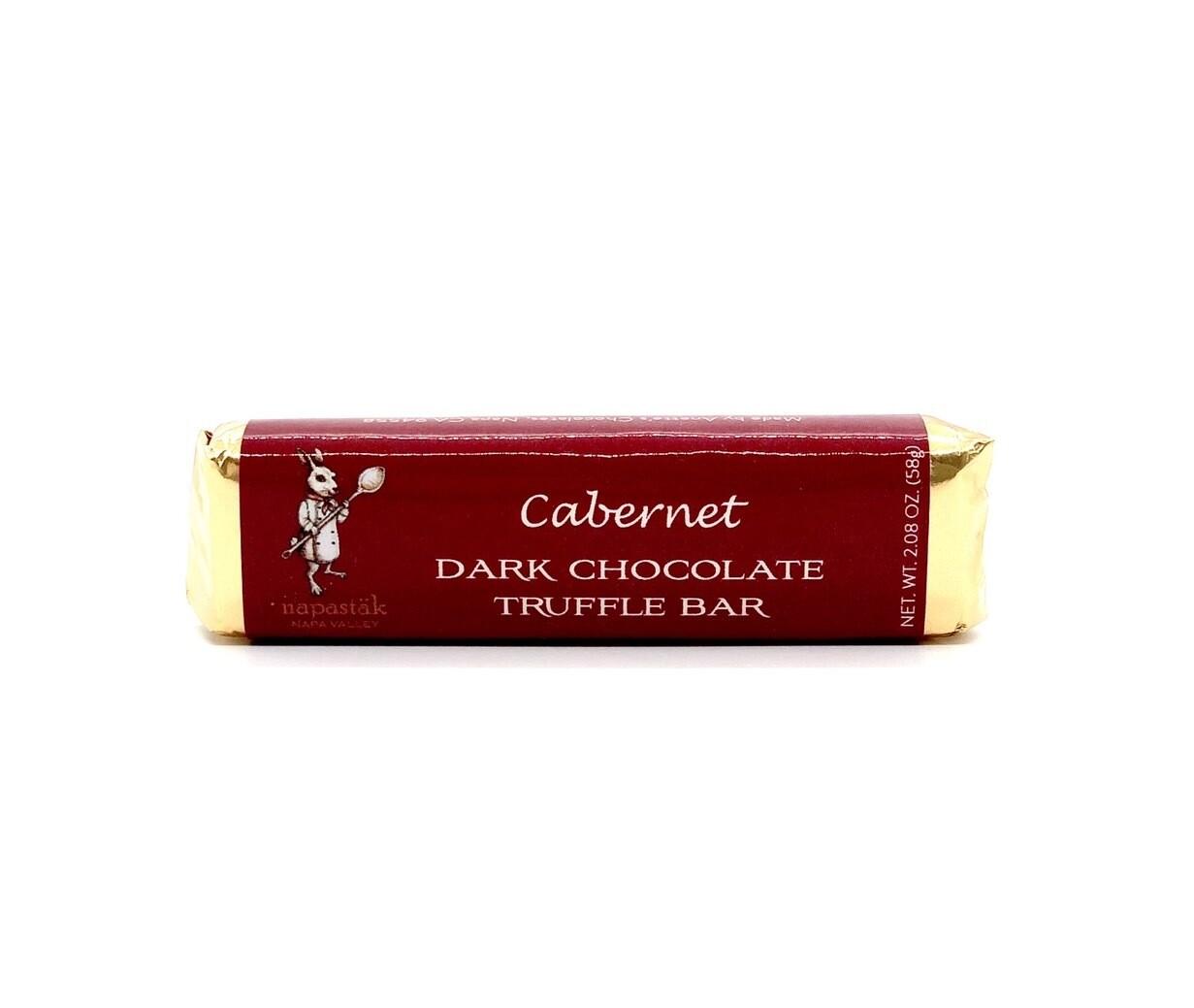 Cabernet Truffle Dark Chocolate Bar
