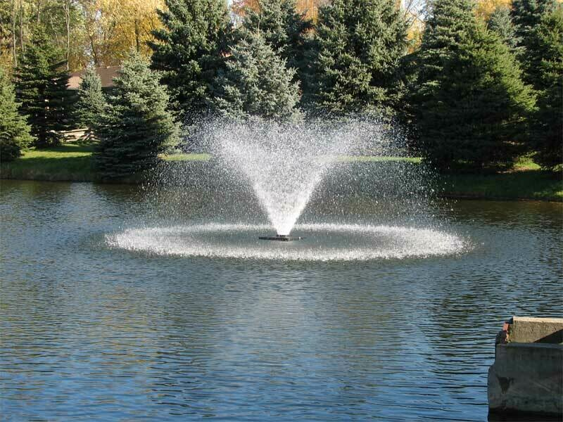 1HP Aerator Fountain