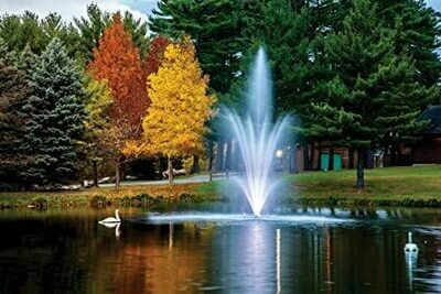 The Amherst 3hp Lake Display Fountain