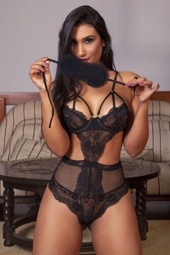 Playful Diva Lingerie Set