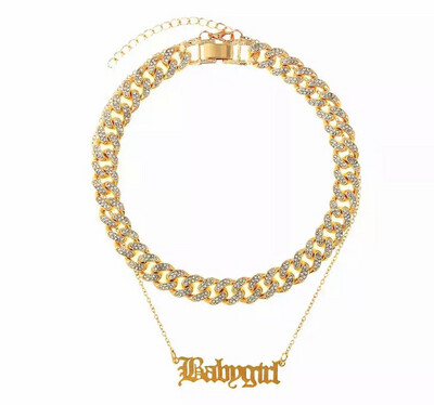 Babygirl Cuban Chain Necklace