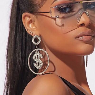 Luxury Money Earrings