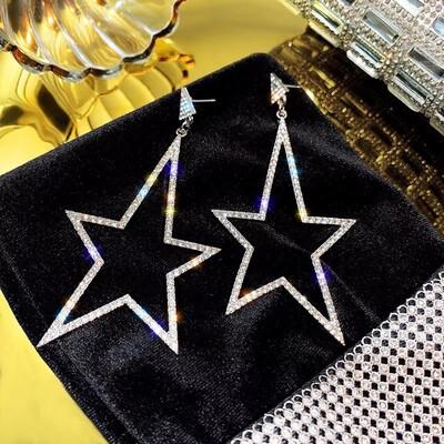 pointed Star Earrings