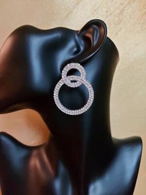 Circle Flash Earrings