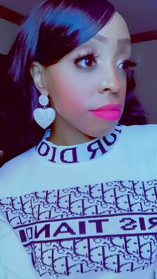 Rhinestone Love Earrings