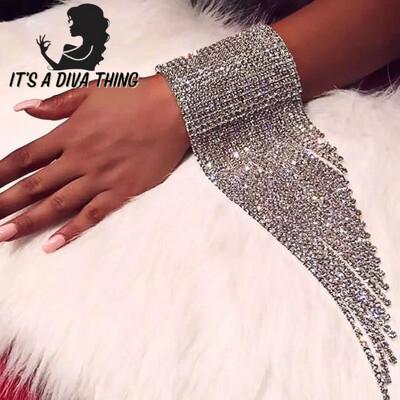 Angel Wing Rhinestone Bracelet