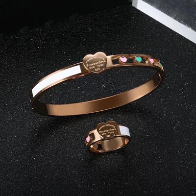 Luxury Heart Bracelet