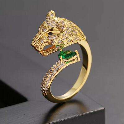 Leopard Design Ring