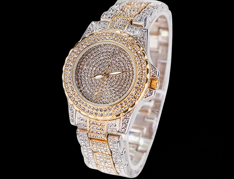 Luxury Crystal Watch