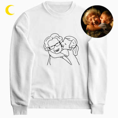 Unikali dovana - iliustruotas džemperis