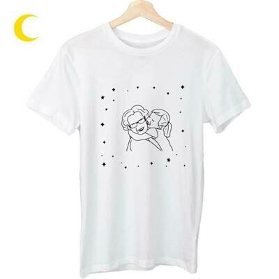 Marškinėliai su tavo MAMOS iliustracija!