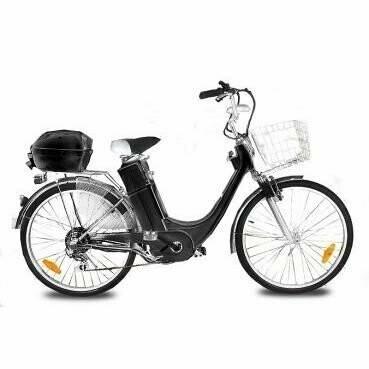 Vélo électrique City Bike 250 Noir