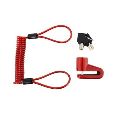 Cadenas à pince rouge pour trottinettes électriques