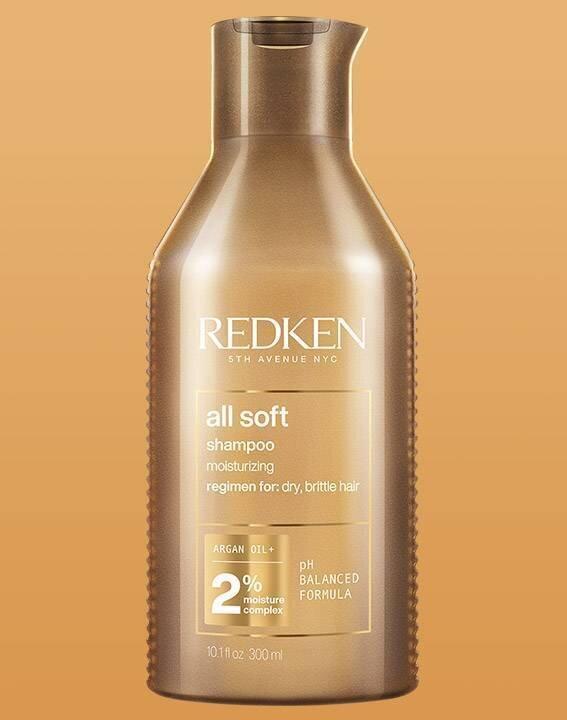 All Soft Argan Oil Shampoo