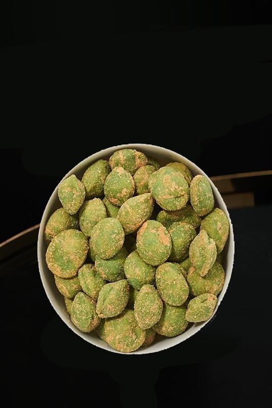 Erdnusskerne. Teigmantel Wasabi Premium. Japan (150g)
