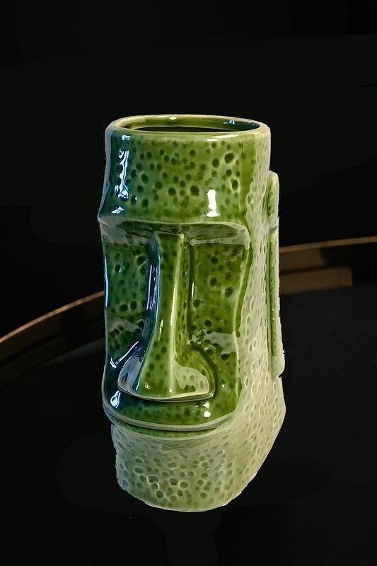 Tiki Mug Moai Klassiker 17 cm hoch