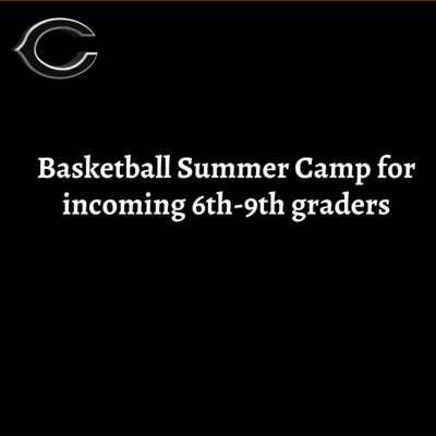 Basketball Camp Fee for incoming 6th-9th graders