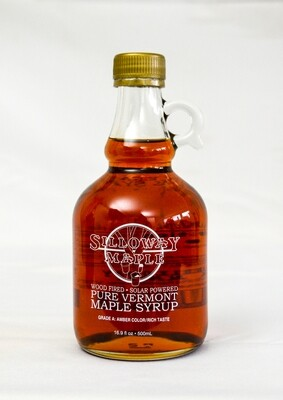Pure Vermont Maple Syrup, 16.9 ounce
