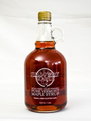 Pure Vermont Maple Syrup, 33.8 ounce