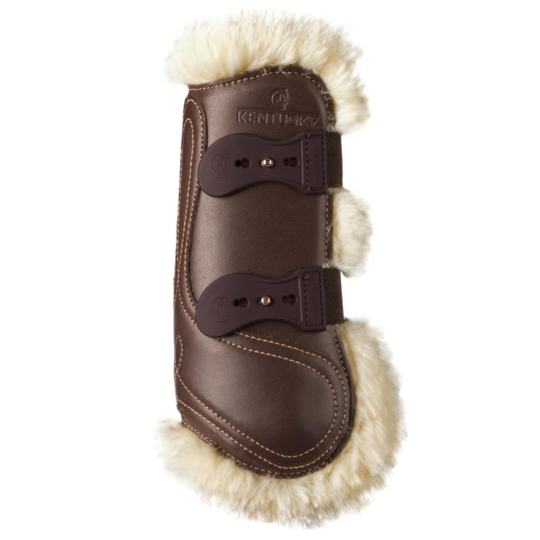 Kentucky Horsewear - Guêtres en cuir mouton