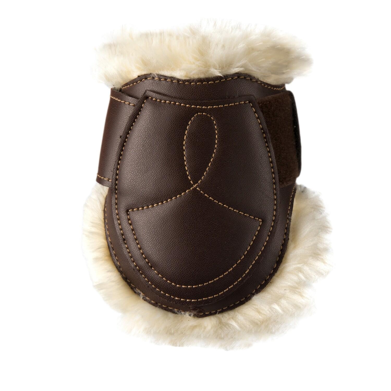 Kentucky Horsewear - Protège-boulet cuir mouton