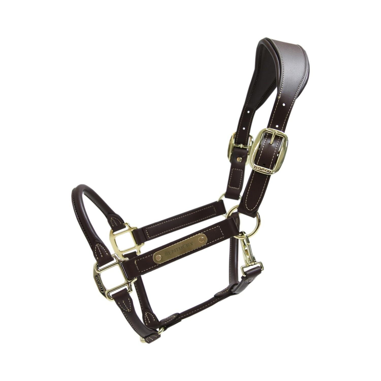 Kentucky Horsewear - Licol anatomique en cuir