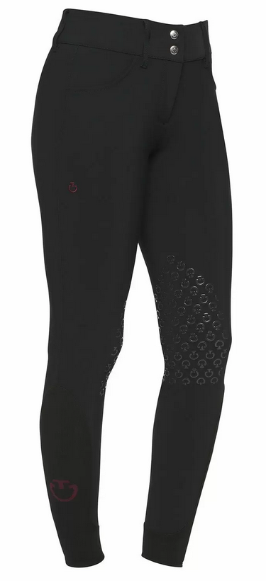 Cavalleria Toscana - Pantalon Knee Grip Taille Haute