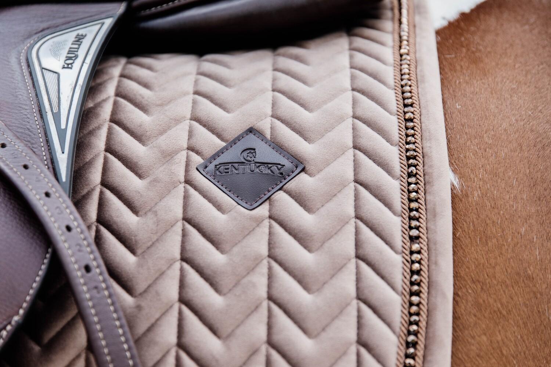 Kentucky Horsewear - Tapis Velvet Pearls Jumping