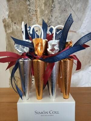 Simón Coll Milk Chocolate Umbrellas