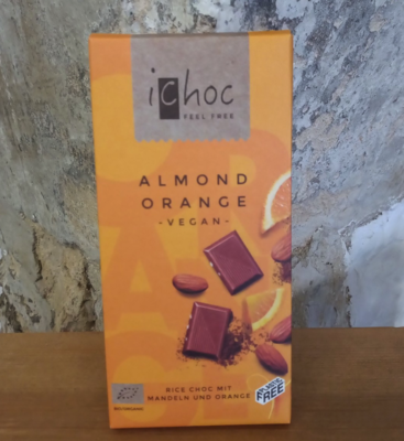 iChoc Almond and Orange Bar