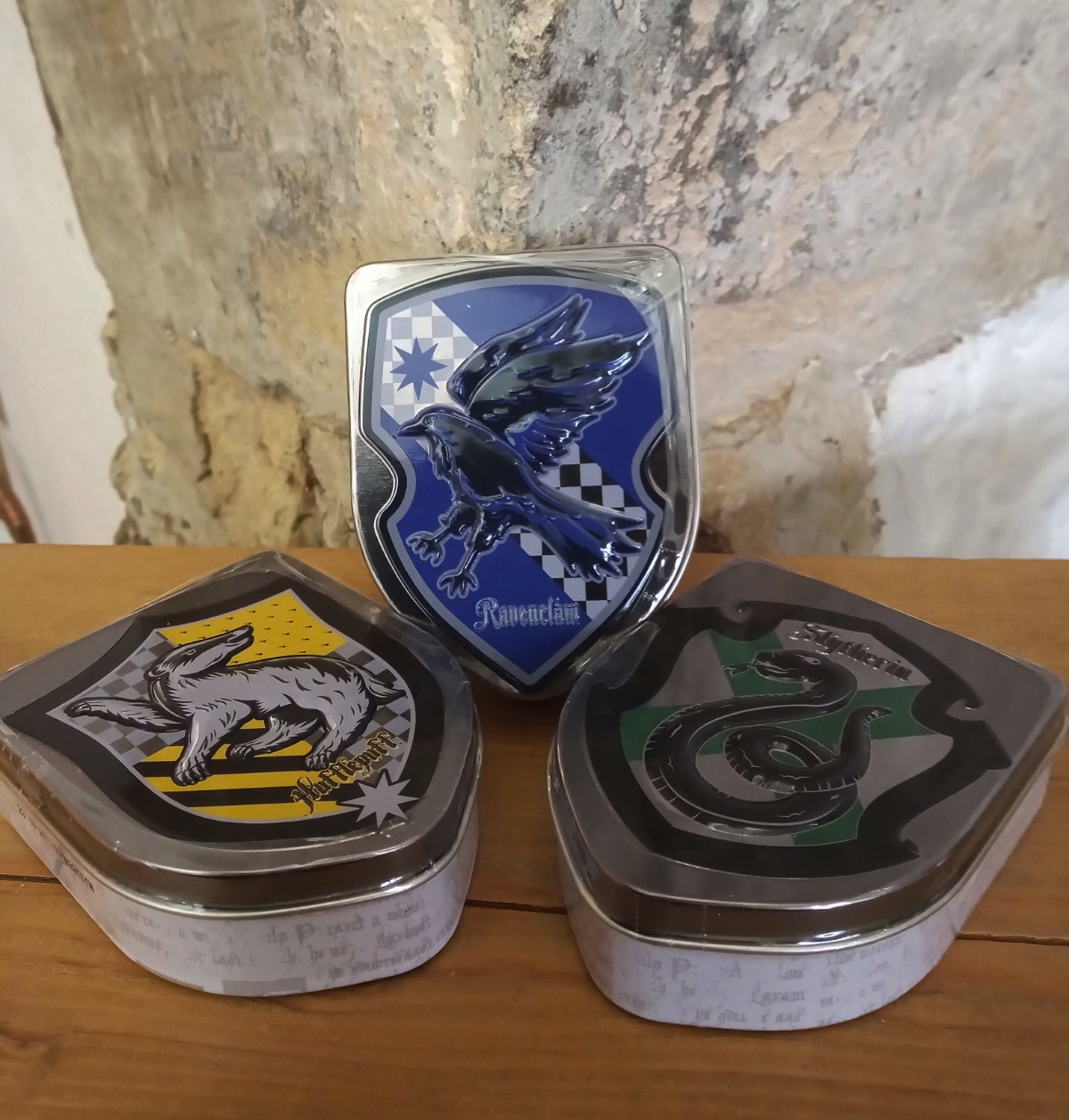 Harry Potter House Tins with Jelly Beans