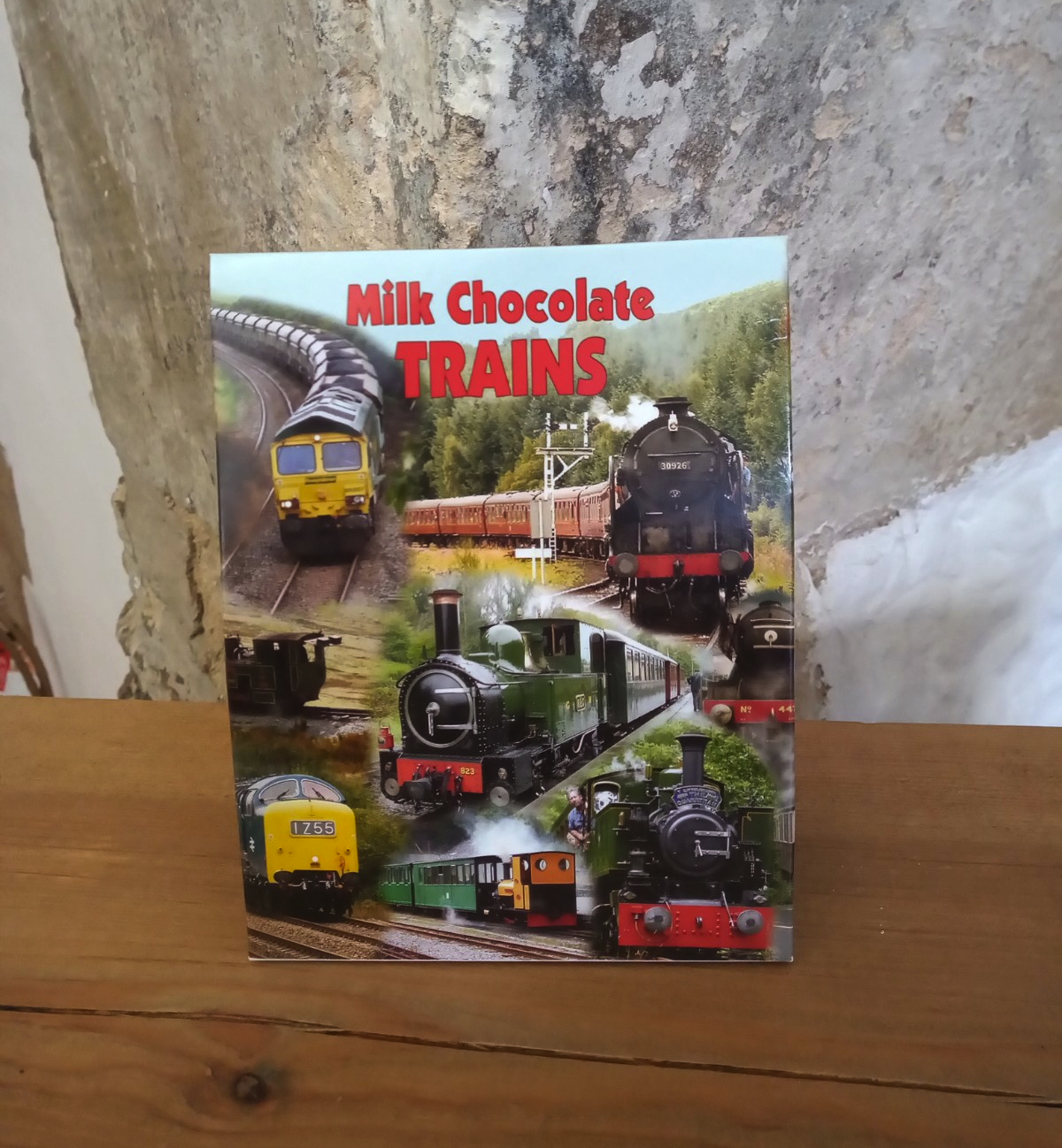 Milk Chocolate Trains