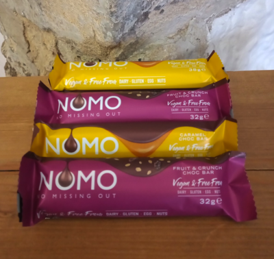 NoMo Snack Bars