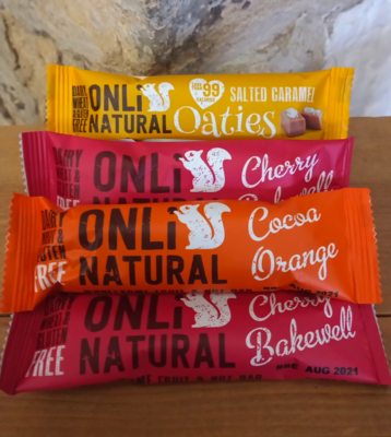 Onli Natural Vegan Snack Bars